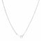 Arianna Rhodium Stainless Steel Arrow Necklace - Necklaces - KA Designs Online