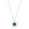 Bella Bridal Pendant in Green - Pendants - KA Designs Online