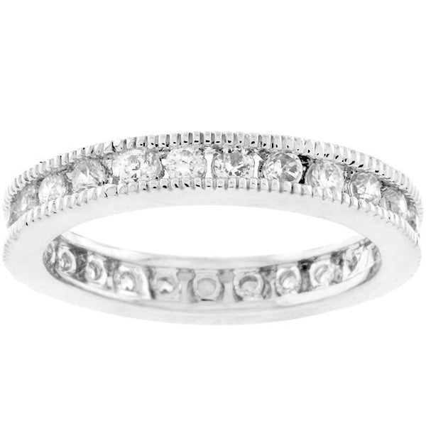 Classic Milgrain Eternity Band - Rings - KA Designs Online