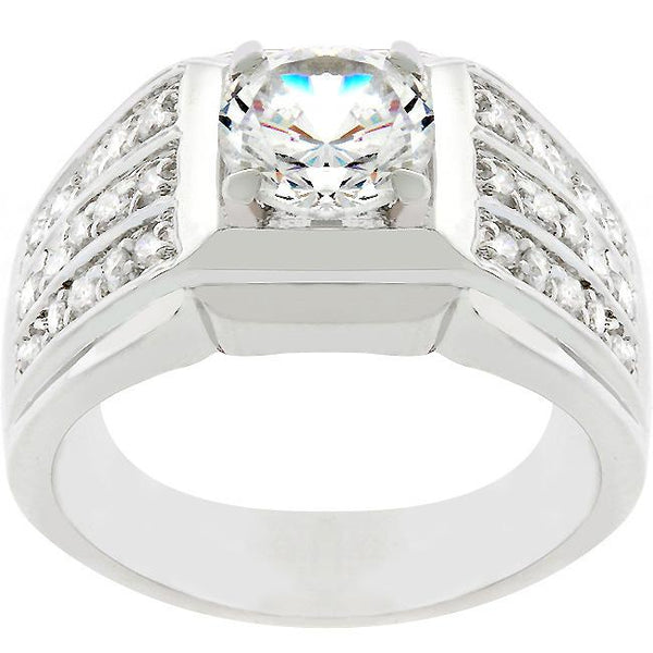 Rock Solid Cubic Zirconia Ring - Rings - KA Designs Online