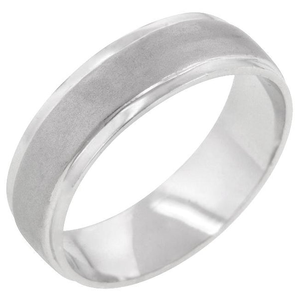 Classic Matte 6 MM Wedding Band - Rings - KA Designs Online