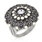Antique Silver Crest Ring II - Rings - KA Designs Online