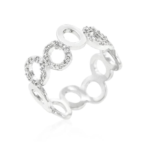 Staggering Hoop Eternity Band - Rings - KA Designs Online