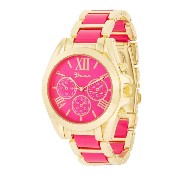 Pink Gold Watch