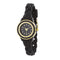 Carmen Braided Ladylike Watch With Black Rubber Strap - Watches - KA Designs Online
