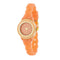 Carmen Braided Ladylike Watch With Coral Rubber Strap - Watches - KA Designs Online
