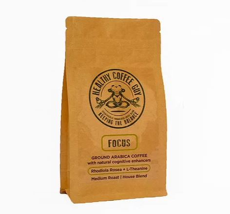 Focus Blend - more focused, better mental & physical performance and less jitters
