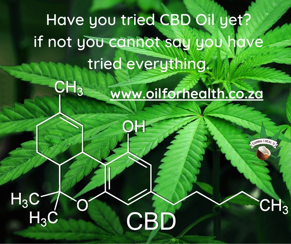 Have you tried CBD Oil yet?
