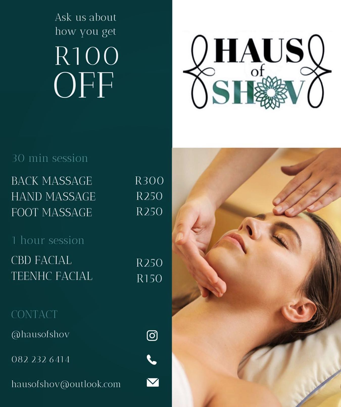 Haus of Shov - CBD beauty therapy