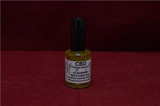 CBD Nail & Cuticle Care 15ml