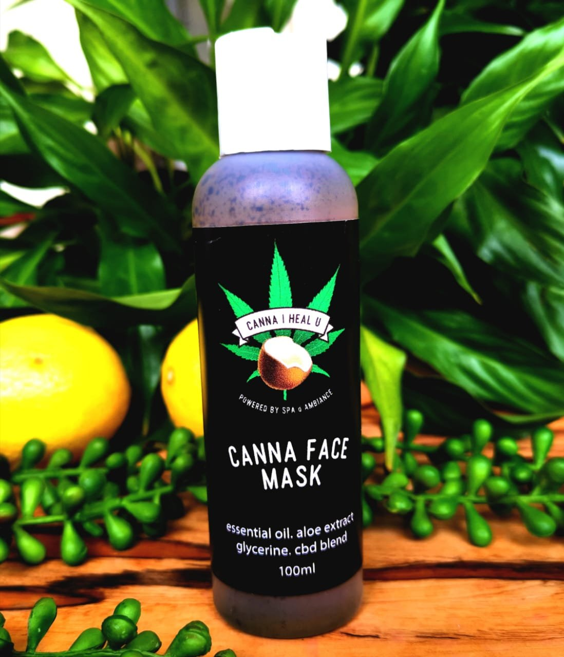 Cannabis Face Mask, acne