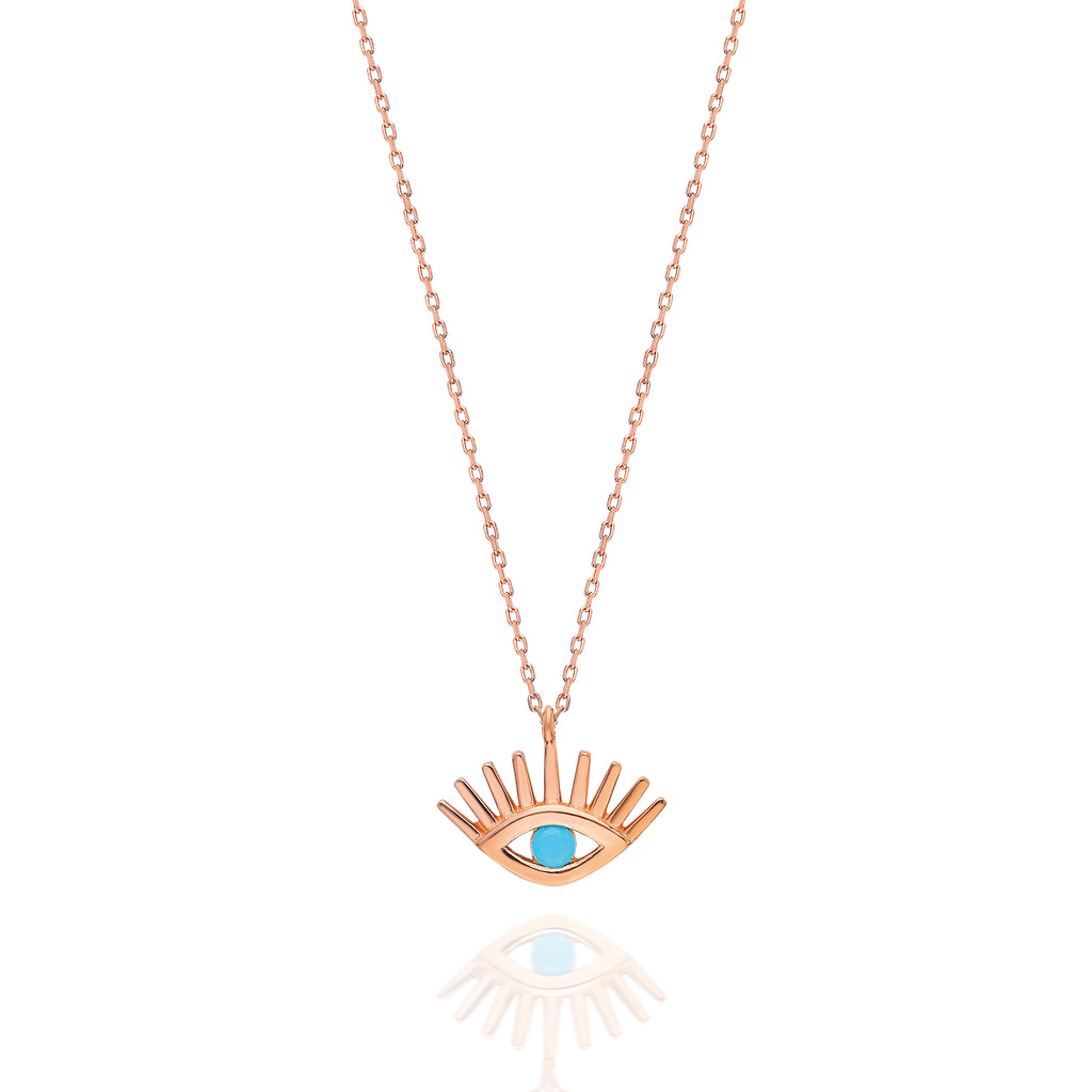 Radiant Evil Eye Protection Necklace
