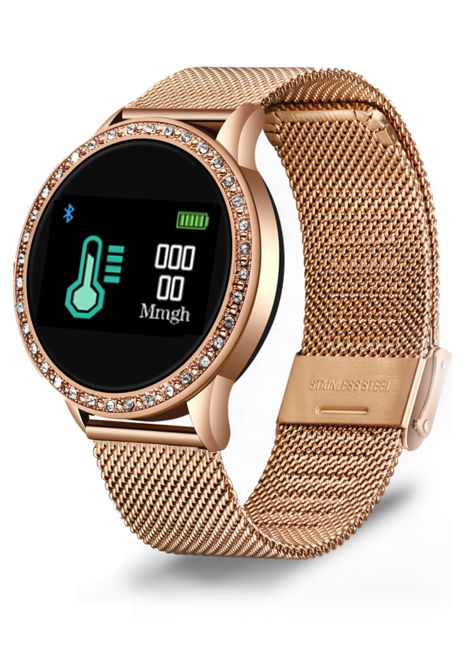 Activity Tracking Woman Smartwatch™  [Diamant Editie]