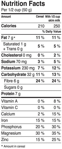 0g of Sugar Per serving - Muesli