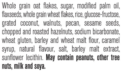 omega nuts and seeds ingredients