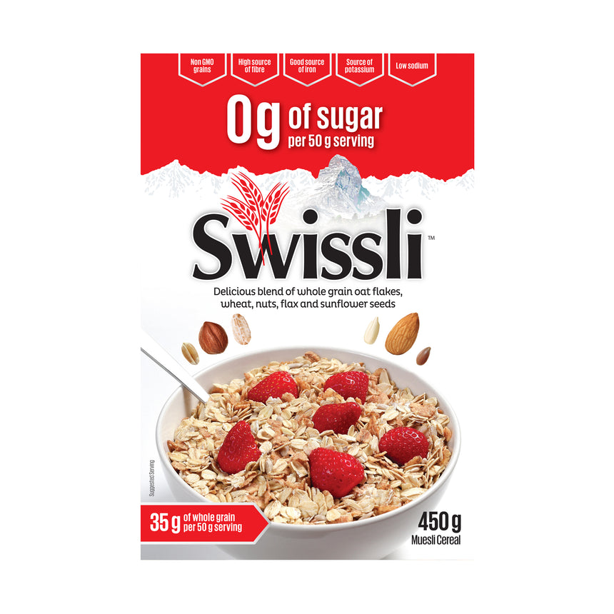 0g of Sugar Per Serving Muesli - Pack of 8
