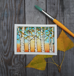 Fall Forest Mini Mixed Media Workshop [October 23]