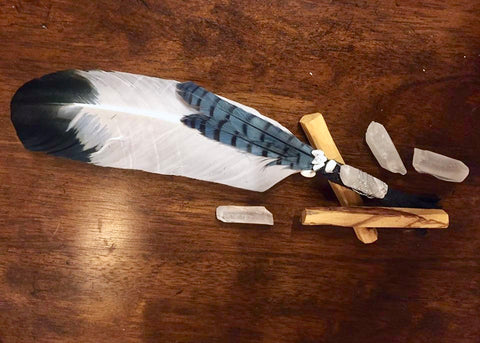 DIY Feather Fan for Smoke Cleansing Rituals [April 4]