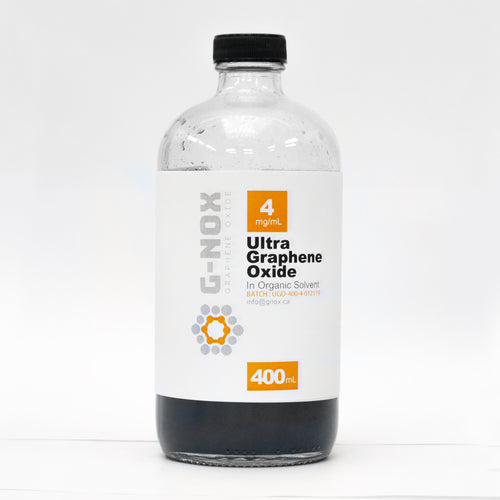 400 mL G-NOX Ultra Graphene Oxide, 4 mg/mL Dispersion in Organic Solvent