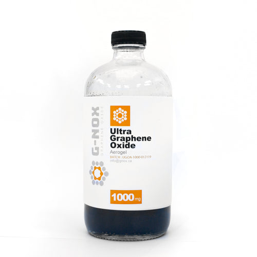 1000 mg	G-NOX Ultra Graphene Oxide, Aerogel (solid GO flakes), 1000 mg