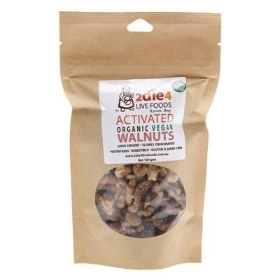 Activated Organic Walnuts - Vegan 120g