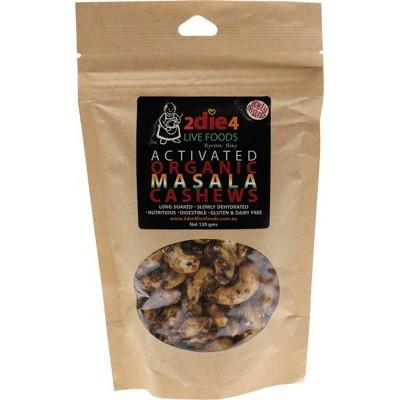 Activated Org Masala Cashews 120g