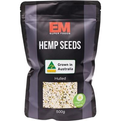 Hemp Seeds - Hulled - Australian Grown 500g