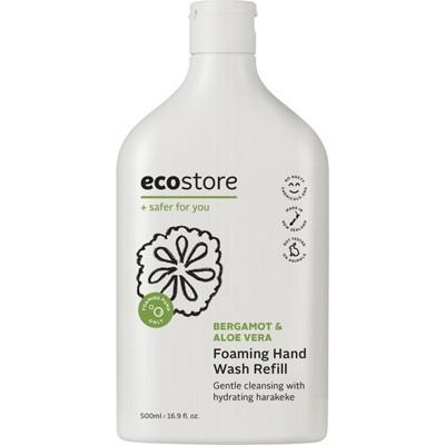 Foaming Hand Wash (Refill) - Bergamot & Aloe Vera 500ml