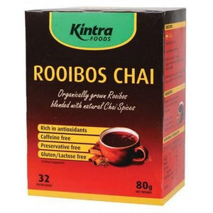 Rooibos Chai - Tea Bags X 32 - Rooibos Blend With Chai Spices 80g