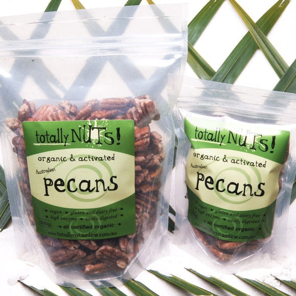 Organic Activated Pecan Nuts 300g