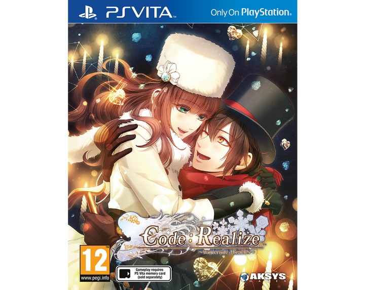 Code: Realize ~Wintertide Miracles~ <p> Standard Edition - PS Vita™