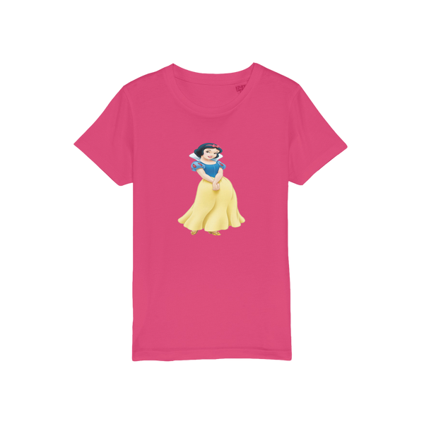 snow white Organic Jersey Kids T-Shirt
