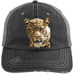 tyger1 6990 Distressed Unstructured Trucker Cap