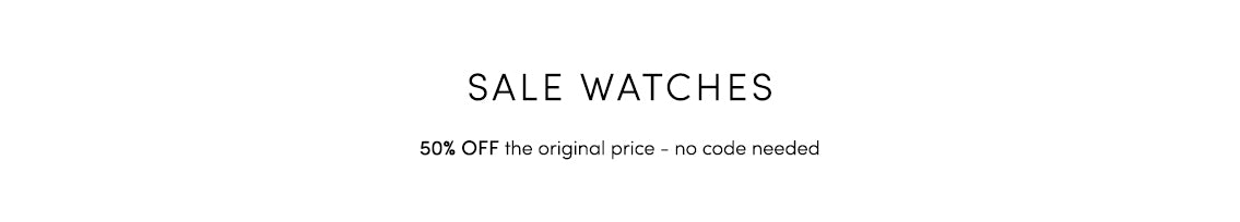 50% Off Watches