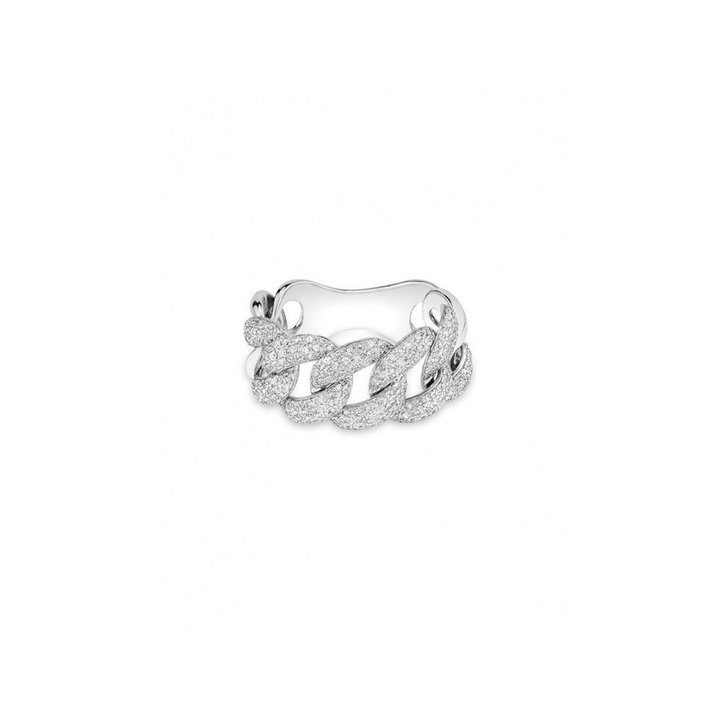 SALE Diamond Chain Link Ring