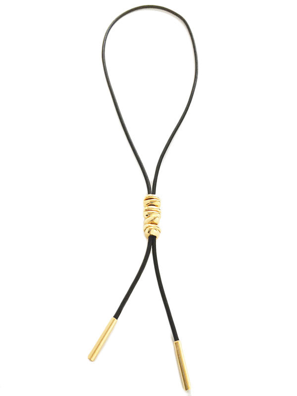 Pebble Lariat Necklace