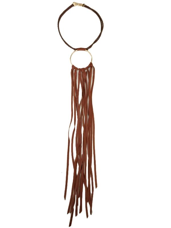 Fringe Drop Necklace