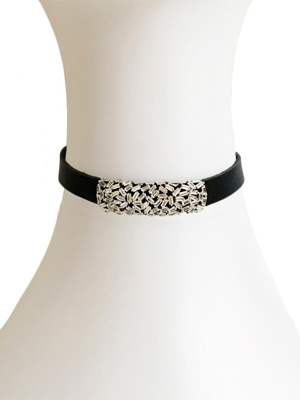 SALE Cluster Choker Necklace