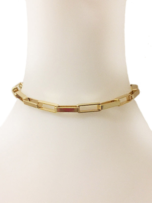 Link Choker Necklace