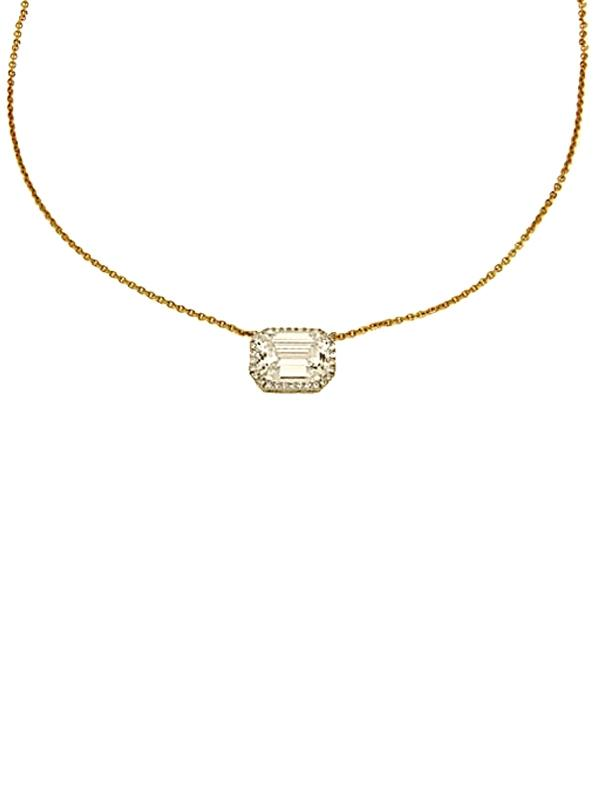 SALE Faux Diamond Necklace