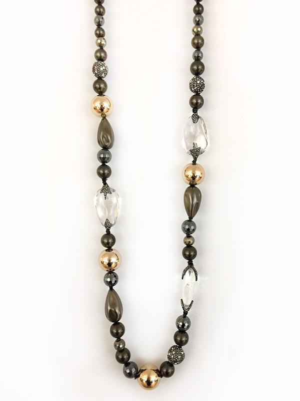 SALE Statement Bead Necklace