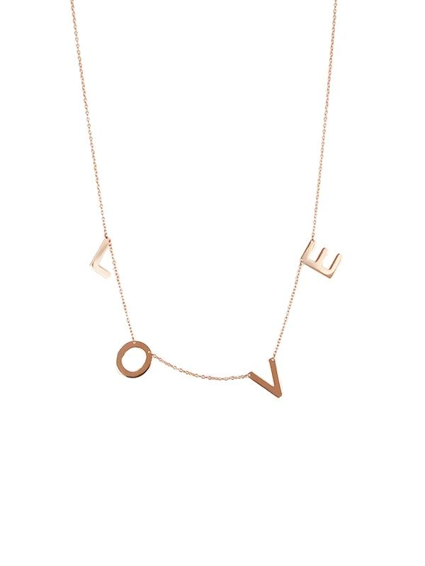 LOVE Chain Necklace