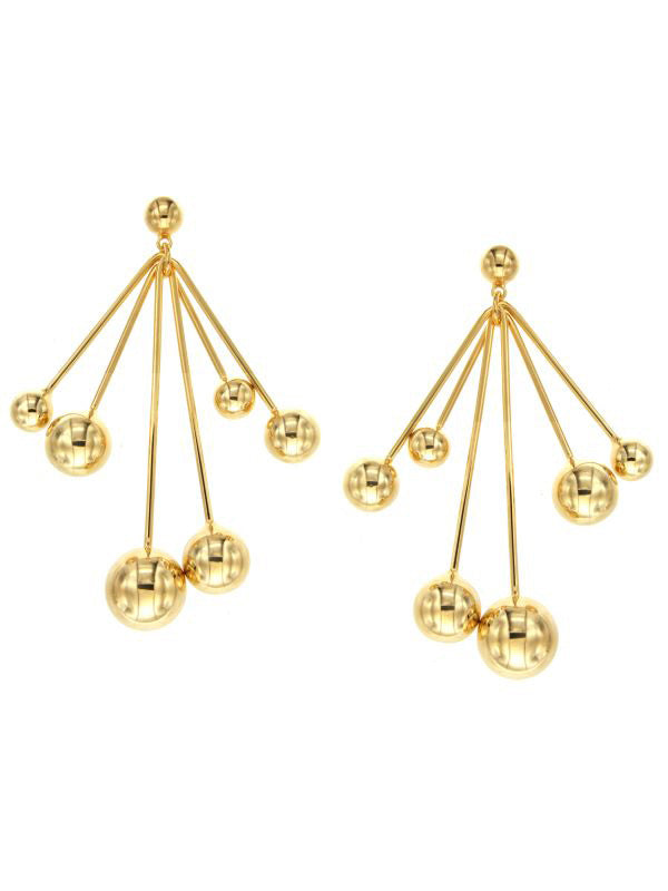SALE Disco Ball Chandelier Earrings