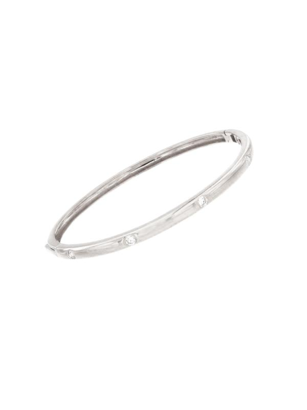 SALE Diamond Bangle Bracelet