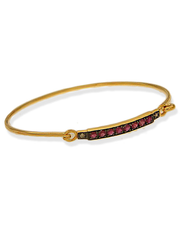 Diamond & Ruby Bracelet