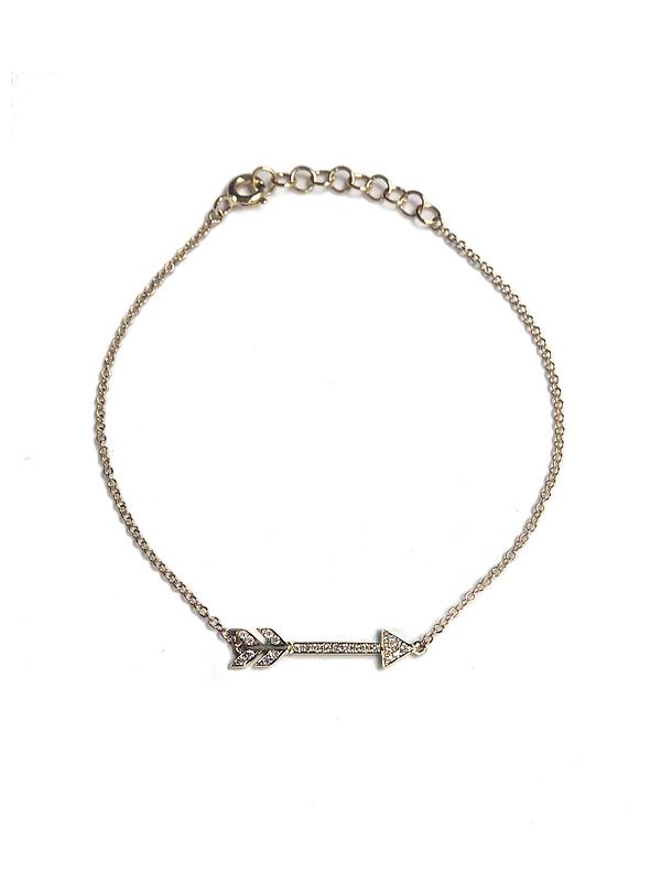 Diamond Arrow Bracelet