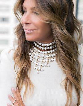 Pearl Mesh Necklace