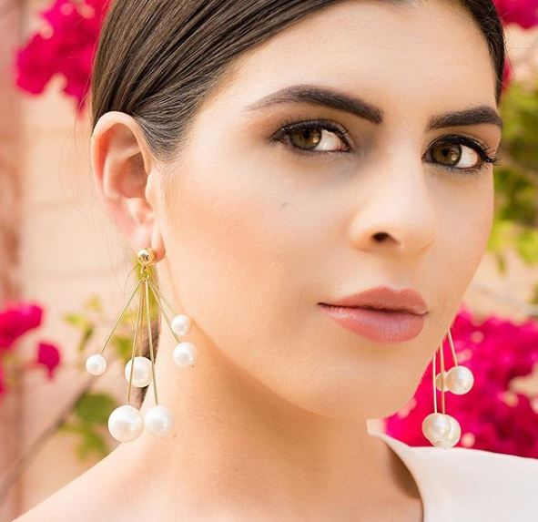 Disco Ball Chandelier Earrings