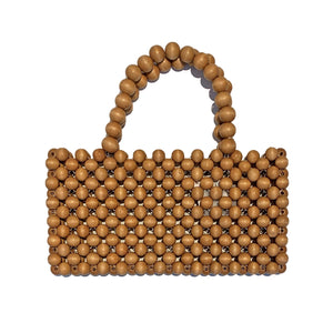 Natural Wooden Tote