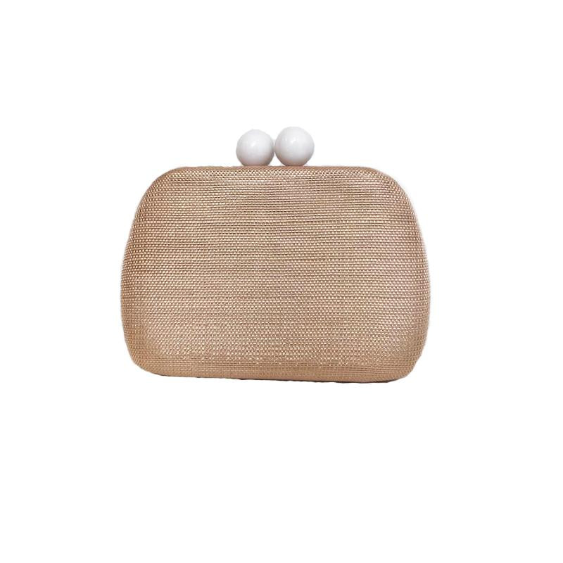 Textured Clutch Bag